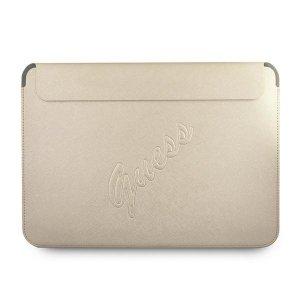 Guess Sleeve GUCS13PUSASLG 13 złoty /gold Saffiano Script