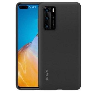 Huawei Silicone Case P40 czarny /black 51993719