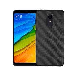 Etui Carbon Fiber Xiaomi Redmi 5 Plus czarny/black