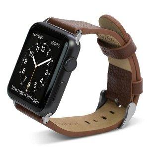 Pasek X-Doria Lux Apple Watch 38mm brązowy/brown 23820