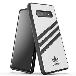 Adidas Moulded Case Samsung S10+ G975 biały/white 34698