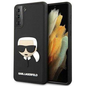 Karl Lagerfeld KLHCS21SKH3DBK S21 G991 czarny/black hardcase 3D Rubber Karl`s Head