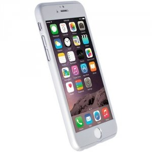 Krusell Arvika Cover iPhone 6S/6 60569 srebrny/silver