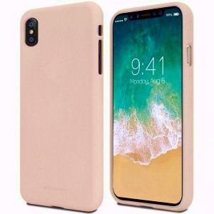 Mercury Soft Huawei Mate 10 różowo-pias kowy /pink sand