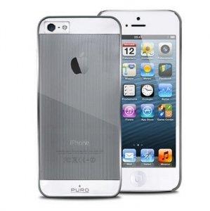 Puro Mirror Cover iPhone 5/5S srebrny IPC5MIRRORSIL