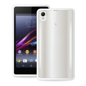 Puro Clear Sony Xperia Z2 biały SYXZ2CLEARWHI