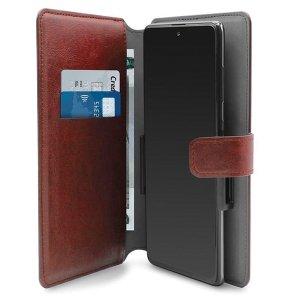 PURO Wallet 360° XXL etui uniwersalne czerwony/red obrotowe z kieszeniami na karty UNIWALLET4REDXXL