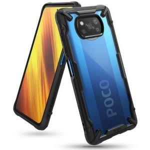 Ringke Fusion X Xiaomi Poco X3 Pro/X3 NFC czarny/black FXXI0027