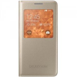 Etui Samsung EF-CG850BF Alpha złoty