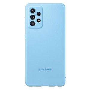 Etui Samsung EF-PA725TL A72 A725 niebieski/blue Silicone Cover