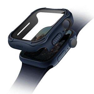 UNIQ etui Torres Apple Watch Series 4/5/6/SE 40mm. niebieski/nautical blue