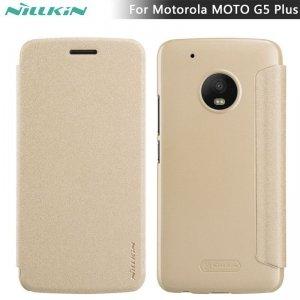NILLKIN Sparkle Etui Futerał Moto G5(złote)