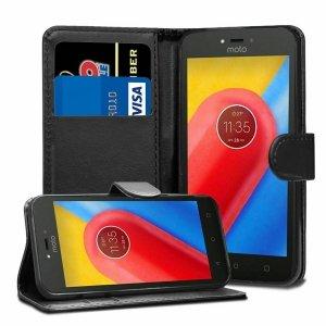 MANGAO Etui Futerał Wallet Case Lenovo MOTO G4 PLUS