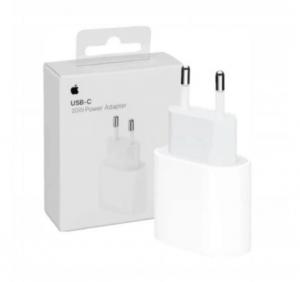 Ładowarka sieciowa Apple USB Typ C 20W 3A (USB-C) Szybkie ładowanie (MHJE3ZM/A) biała
