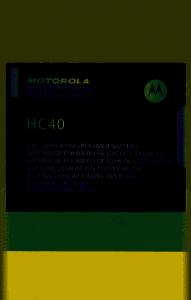 NOWA ORYGINALNA BATERIA MOTOROLA HC40 MOTO C XT1754 2350MAH