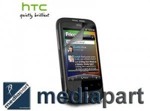 ORYGINALNA BEZKLEJOWA FOLIA HTC WILDFIRE SP-P380 -2 SZT