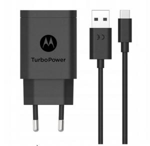 Oryginalna ładowarka sieciowa Motorola TURBO-POWER MC-202 QC 3.0 20W + kabel USB-C