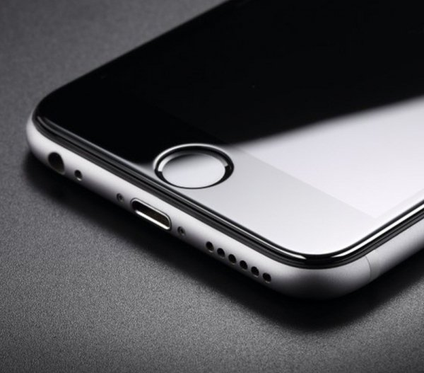 "HardGlass MAX 5D - Szkło Hartowane na cały ekran do Apple iPhone 7 PLUS / 8 PLUS (5,5"") kolor czarny"