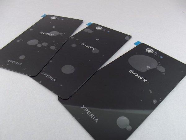 NOWA KLAPKA BATERII PANEL SONY XPERIA Z3 COMPACT (czarna)