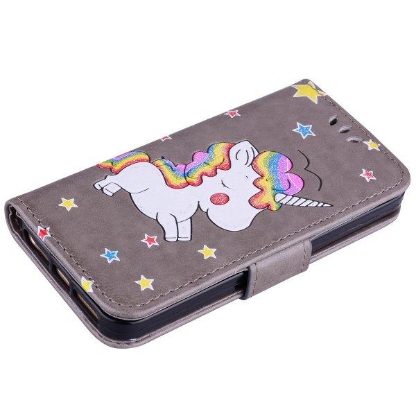 Unicorn Rainbow Pony Etui Futerał - iPhone 5 5S SE