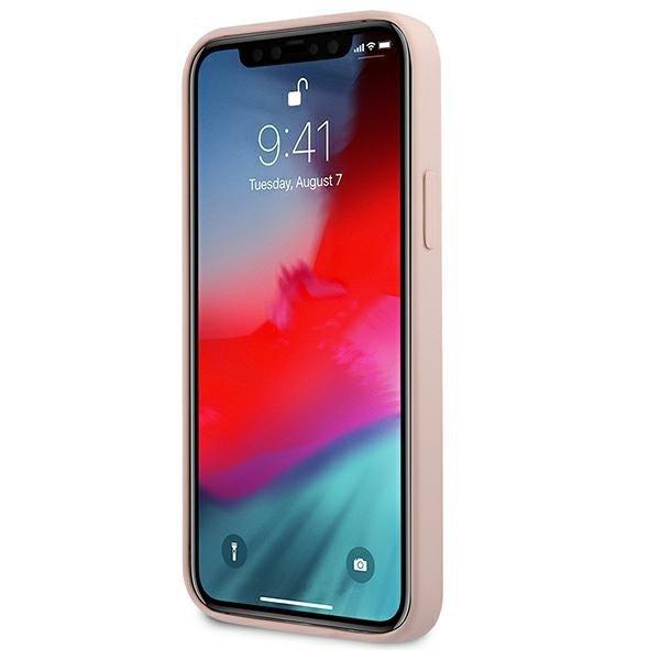 "Karl Lagerfeld KLHCP12SSLCHLP iPhone 12 mini 5,4"" hardcase jasno różowy/light pink Silicone Choupette"