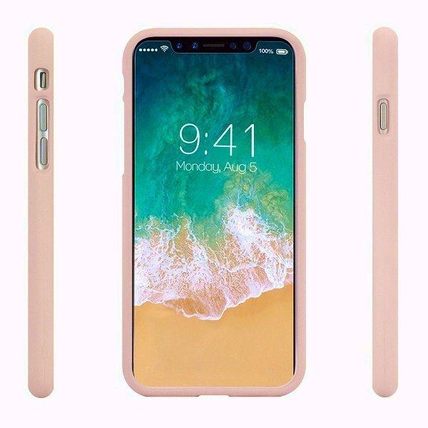 Mercury Soft Samsung A72 5G A726 różowo-piaskowy/pink sand
