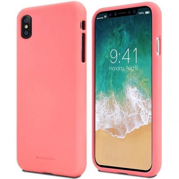 Mercury Soft Samsung A72 5G A726 różowy/pink