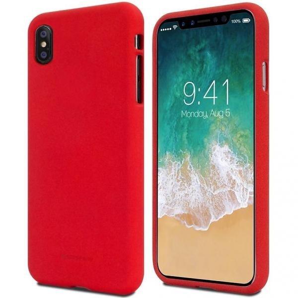 Mercury Soft Xiaomi Redmi Note 10 Pro czerwony/red