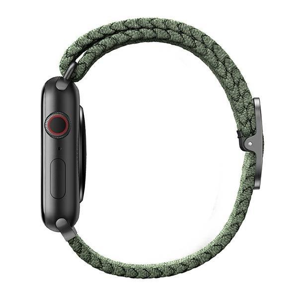 UNIQ pasek Aspen Apple Watch 40/38mm Braided zielony/cypress green
