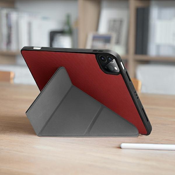 "UNIQ etui Transforma iPad Pro 12,9"" (2021) Antimicrobial czarny/ebony black"