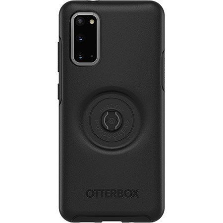 OtterBox Symmetry POP - obudowa ochronna z PopSockets do Samsung Galaxy S20 (black)