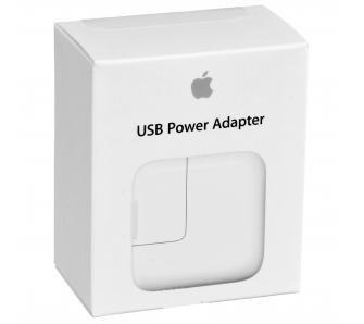 ORYGINALNA ŁADOWARKA SIECIOWA APPLE MD836ZM/A - USB FAST CHARGING 12W 2.4A