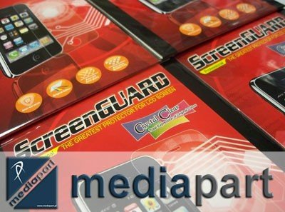 SCREENGUARD FOLIA OCHRONNA CrystalClear do LG SWIFT OPTIMUS P920