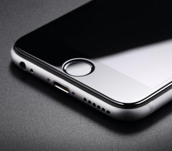 "HardGlass MAX 5D - Szkło Hartowane na cały ekran do Apple iPhone 6 6S (4,7"") kolor czarny"