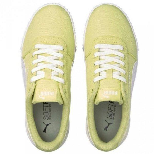 Buty damskie Puma Carina CV żółte 368669 05