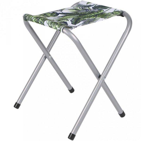 Krzesło turystyczne Royokamp Jungle 32x27x36 cm zielono-białe 1032542