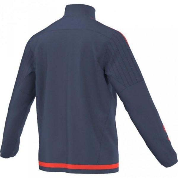 Bluza dla dzieci adidas Tiro 15 Training Top JUNIOR granatowo-pomarańczowa S27114