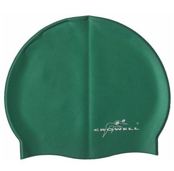 Czepek Crowell jednobarwny zielony SC704