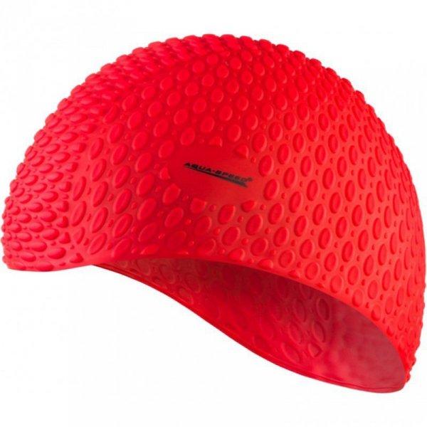Czepek Aqua-speed Bubble czerwony 31 102