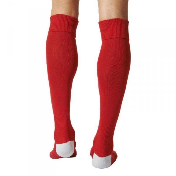 Getry piłkarskie adidas Milano 16 Sock czerwone AJ5906 /E19298