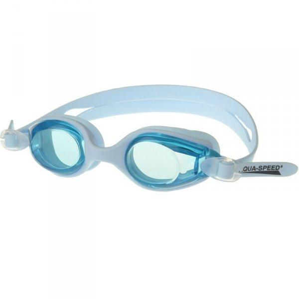 Okulary pływackie Aqua-Speed Ariadna błękitne 01 034