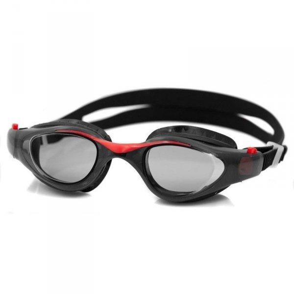 Okulary pływackie Aqua-speed Maori czarno czerwone 31 051