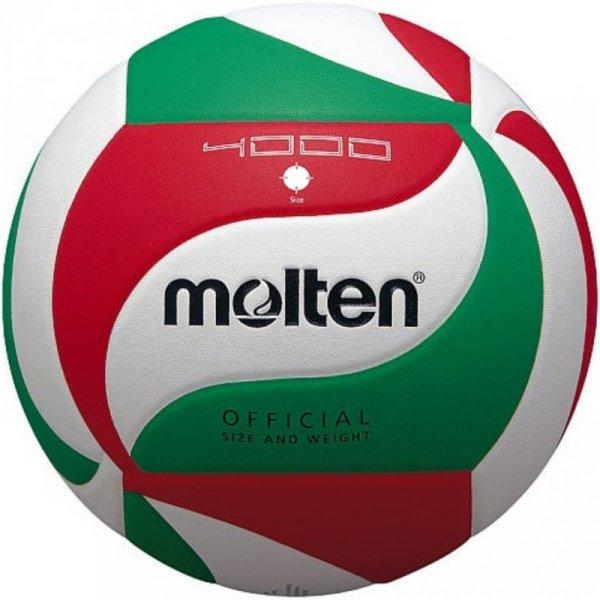 Piłka siatkowa Molten V4M4000 biało-czerwono-zielona