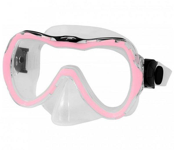 Zestaw do nurkowania Aqua-Speed Maska Enzo Fajka Evo jasno-różowy 03 604