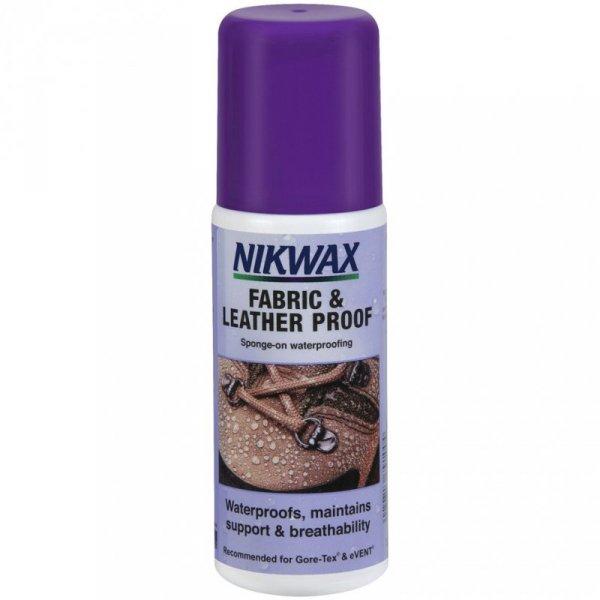Impregnat Nikwax Tkanina & Skóra 125 ml  NI-05 z gąbką