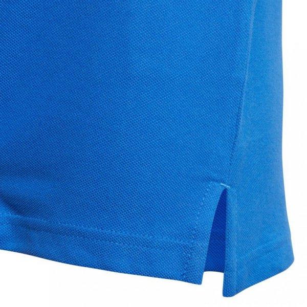 Koszulka dla dzieci adidas Tiro 17 Cotton Polo JUNIOR niebieska BQ2693