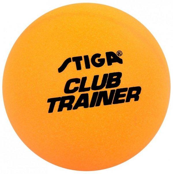 Piłeczki do ping ponga Stiga Club Trainer pomarańczowe 72 szt