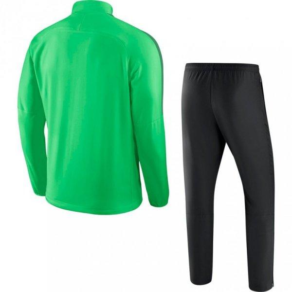 Dres męski Nike M Dry Academy 18 Woven Tracksuit zielono-czarny 893709 361