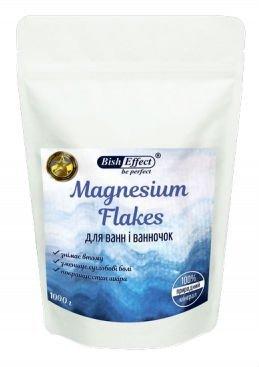 Biszofit, Płatki Magnezowe Chlorek Magnezu, Koncentrat, 1000 g
