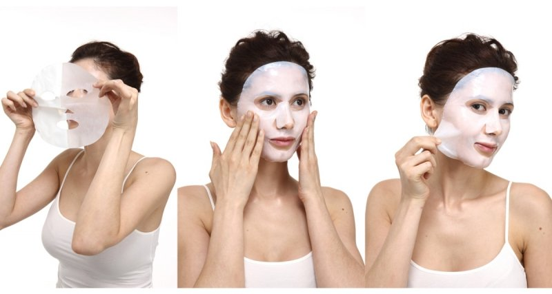 Maska do Twarzy Bio-Celulozowa Odżywczo Wygładzająca Kolagenowa, Aromatika
